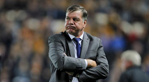 Sam Allardyce, pictured, believes Leicester supporters should show loyalty to Nigel Pearson.