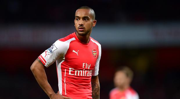 Arsenal forward Theo Walcott is closing in on a return from a groin injury