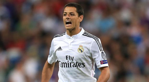 Javier Hernandez's agent says the player has no plans to leave Real Madrid next month