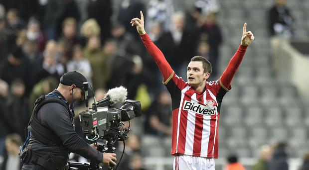 Derby hero Adam Johnson was thrilled to have handed Sunderland fans the perfect Christmas gift