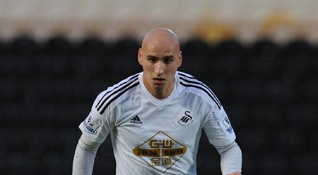 Jonjo Shelvey, pictured, has been urged to take a leaf out of team-mate Gylfi Sigurdsson's book if he is to fulfil his potential