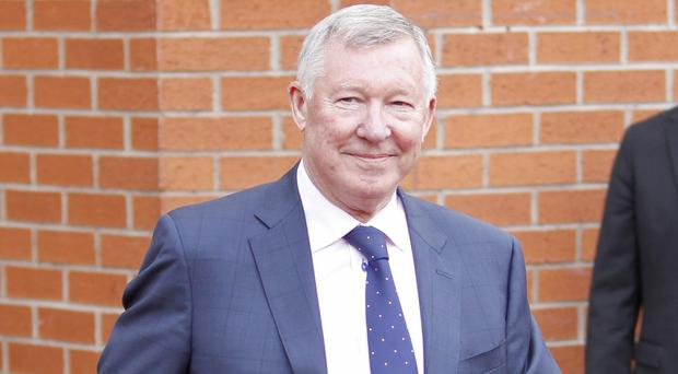 Sir Alex Ferguson, pictured, has no doubt Louis van Gaal is the right man for Manchester United