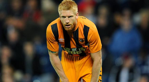 Paul McShane, pictured, has been ordered to apologise to his Hull team-mates by manager Steve Bruce
