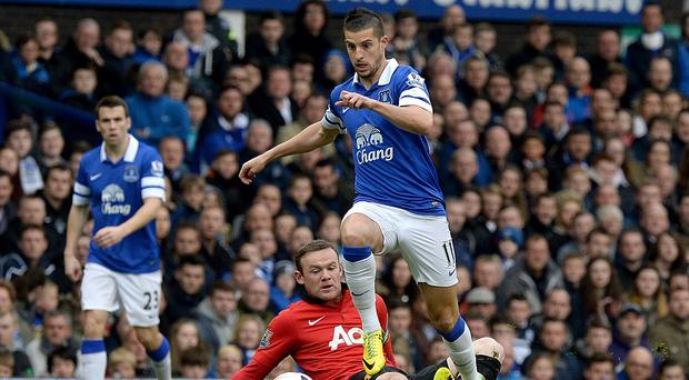 Kevin Mirallas could be fit to face Stoke