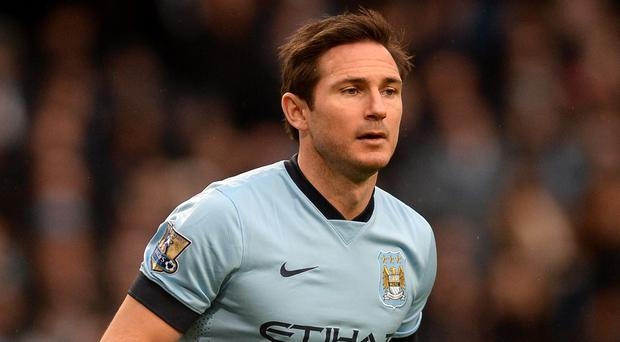 Manuel Pellegrini wants to keep Frank Lampard, pictured, at Manchester City