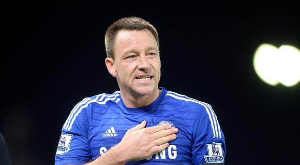 John Terry earned the praise of Jose Mourinho after his goal against West Ham