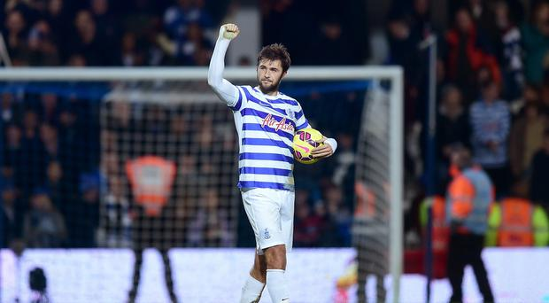 Queens Park Rangers' Charlie Austin has been in fine form this season