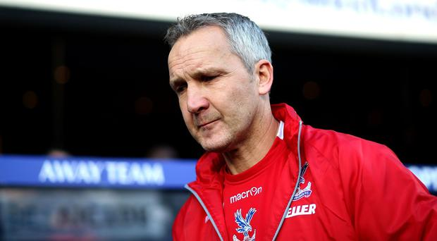 Keith Millen was unable to guide Crystal Palace out of the drop zone