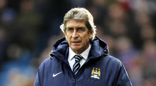 Manchester City manager Manuel Pellegrini was not too frustrated after his side were held to a draw by Burnley