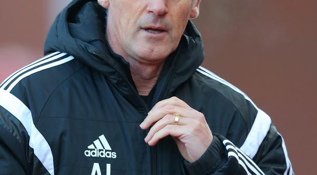 On the brink: Alan Irvine's West Brom future is unclear