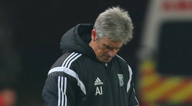 West Brom manager Alan Irvine accepts his future is out of his hands