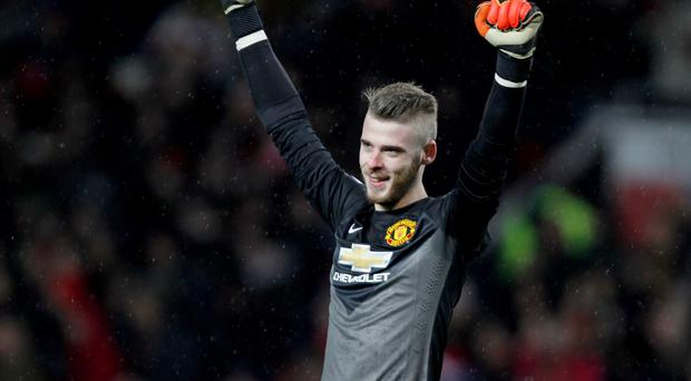 Wanted man: David De Gea has been on top of his game this season