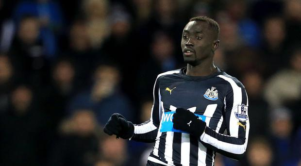 Papiss Cisse has accepted an FA charge and will now serve a three-match ban