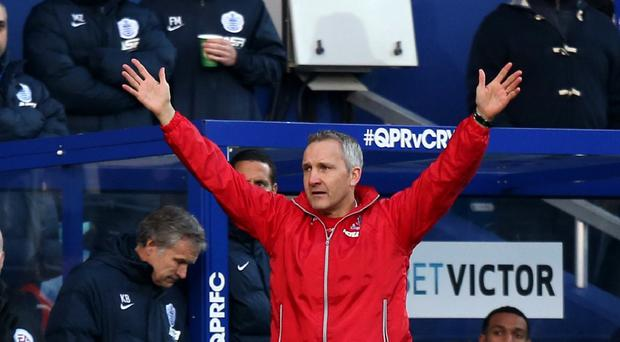 Keith Millen has called on Crystal Palace chiefs to bring their new manager search to a swift conclusion