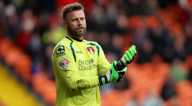 Artur Boruc will remain with Championship leaders Bournemouth for the rest of the season