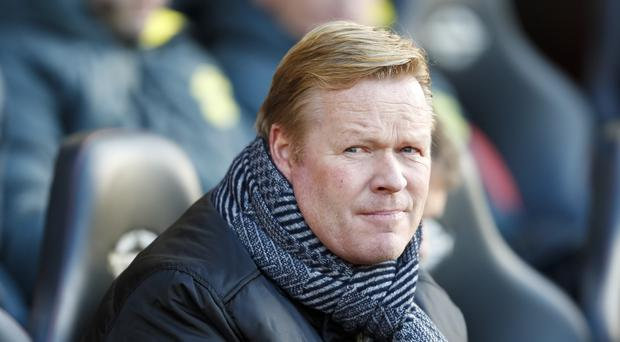Ronald Koeman is 'not obsessed' over Southampton staying in the Champions League places