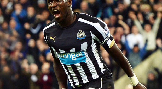 Wanted man: Arsenal are among the clubs chasing Toon ace Moussa Sissoko