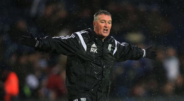 West Bromwich Albion caretaker manager Rob Kelly oversaw a 1-1 draw at West Ham
