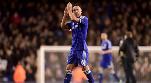 John Terry hopes Chelsea can respond from losing their advantage in the Premier League title race