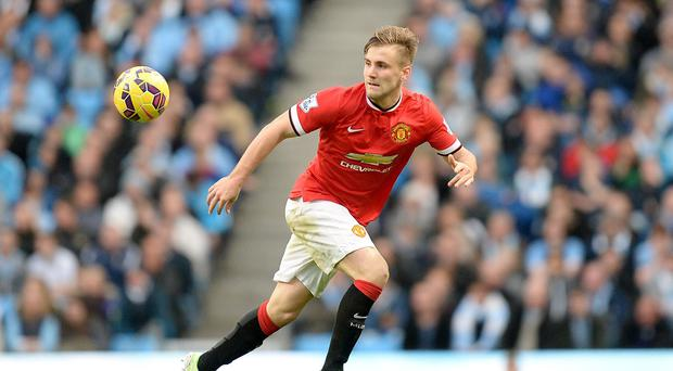 Luke Shaw has started just eight matches for Manchester United since his summer move from Southampton