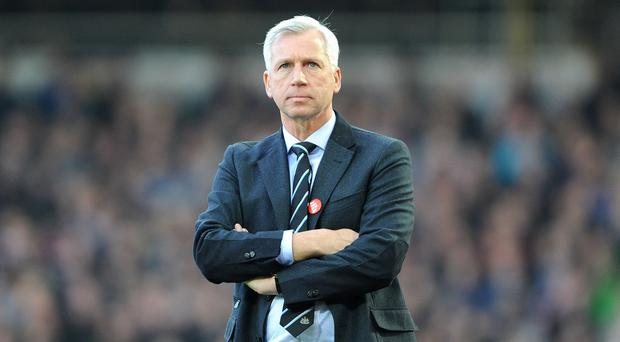 Alan Pardew has been released by Newcastle to take over as Crystal Palace manager
