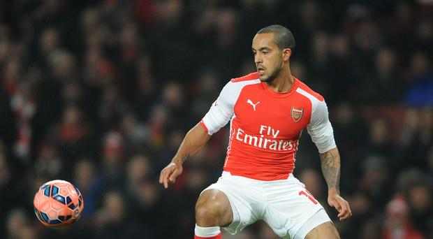 Theo Walcott made his first start in a year in the FA Cup third-round tie against Hull