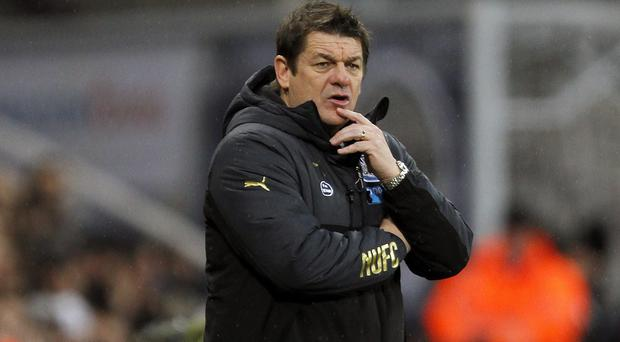 John Carver insists injuries dictated the Newcastle team he put out against Leicester
