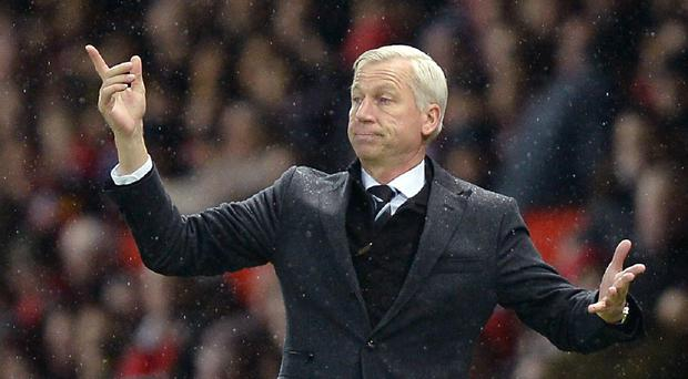 Alan Pardew, pictured, was frustrated to see his best sides dismantled at Newcastle