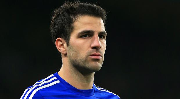 Cesc Fabregas, pictured, believes the reports about Lionel Messi's current situation at Barcelona are wide of the mark