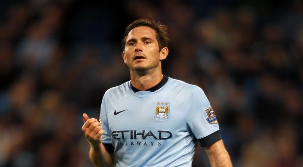 Frank Lampard has sought to draw a line under the controversy regarding his extended stay with Manchester City