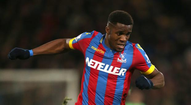 Wilfried Zaha was 'buzzing' after helping Alan Pardew to his first win as new Palace boss