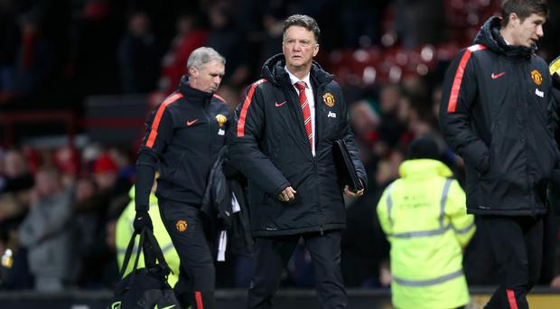 Louis van Gaal was left to reflect on a disappointing home defeat