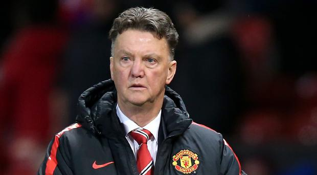 After 21 Premier League games Louis van Gaal has the same number of points with Manchester United as David Moyes had at the same stage last term