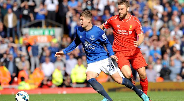 Everton and Liverpool will lock horns on a Saturday evening