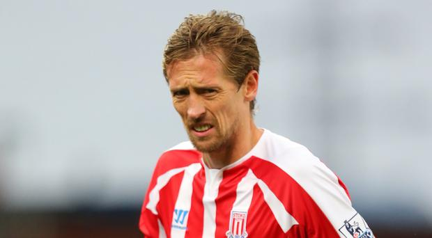 Peter Crouch's Stoke contract runs out at the end of the season
