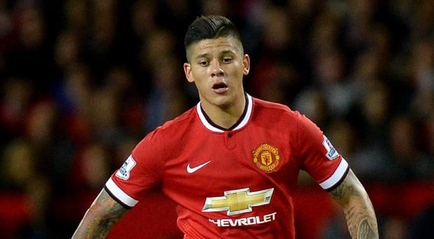 Fined: Marcos Rojo
