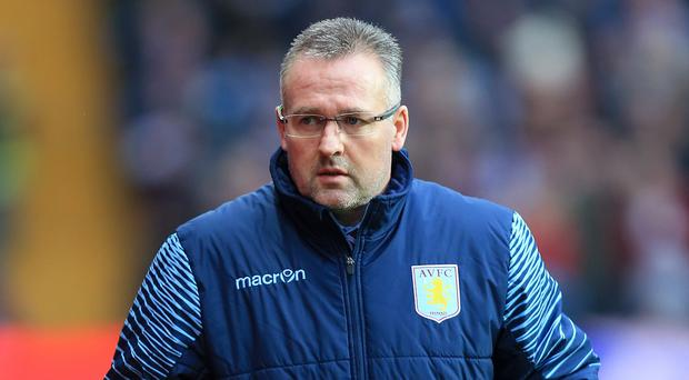 Aston Villa manager Paul Lambert, pictured, wants Carles Gil to aid his side's goal return