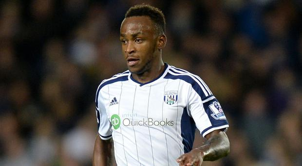 West Brom's Saido Berahino has been banned from driving for 12 months