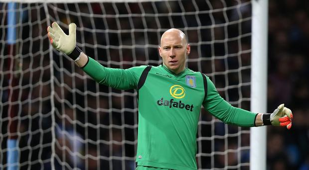 Brad Guzan insists nobody at Villa Park is panicking