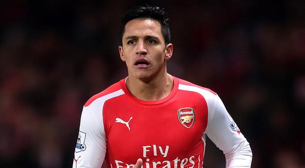 Alexis Sanchez is enjoying a fine first season in England