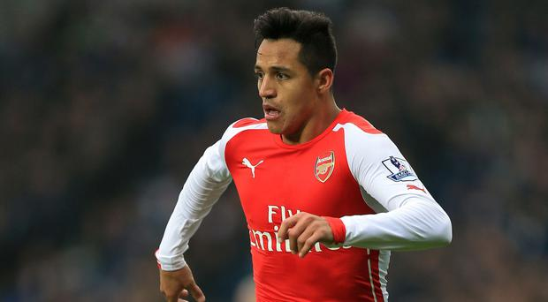 Top Gunner: Alexis Sanchez has excelled for Arsenal this season