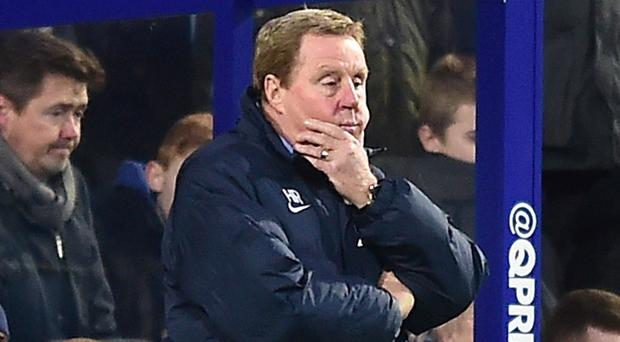 Harry Redknapp, pictured, has claimed QPR chairman Tony Fernandes laughed off reports the former Spurs manager faces the sack at Loftus Road