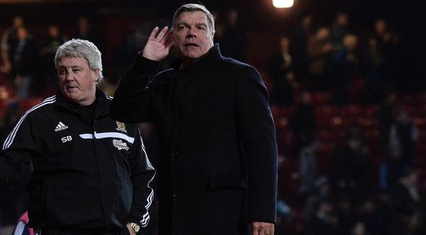 Sam Allardyce cupped his ear as West Ham fans booed their team off the field last season