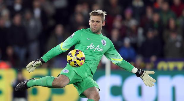 QPR goalkeeper Rob Green played well in a losing cause against Manchester United on Saturday