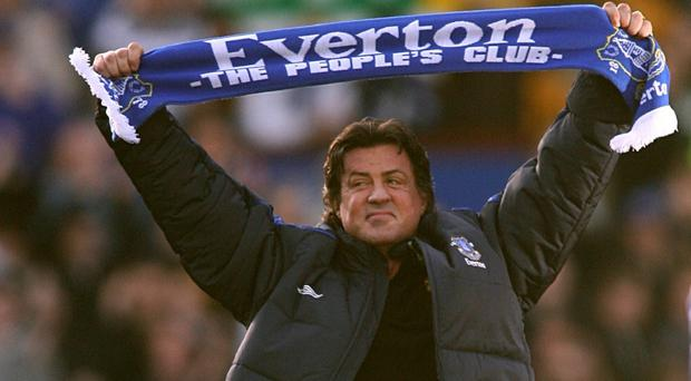 Sylvester Stallone is returning to Goodison Park