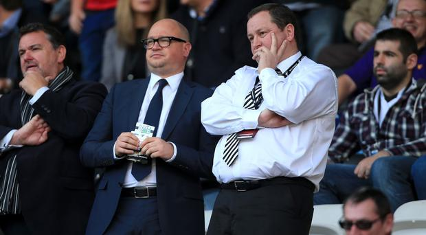 Lee Charnley, left, will not rush into making an appointment