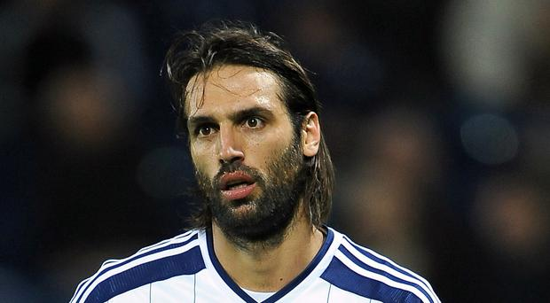 Georgios Samaras is expected to leave West Brom for Al-Hilal
