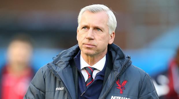 Crystal Palace manager Alan Pardew, pictured, is happy to give Wilfried Zaha a platform to impress