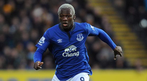 Arouna Kone, pictured, can be Samuel Eto'o's replacement, according to Everton boss Roberto Martinez