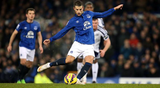 Everton boss Roberto Martinez says the Kevin Mirallas penalty miss controversy is 'water under the bridge'